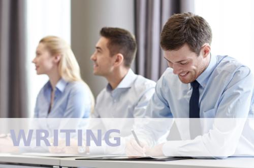 Writing - Formación online